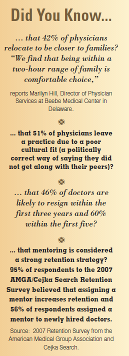 Facts on Physician Career Patterns