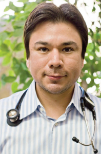 Daniel Anzaldua, MD, an internist at the beginning of his career, likens Facebook to his phone book, a convenient way to reach people. While he may be up-to-date on the popular usage of social media, he's not careless.