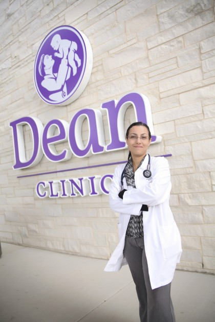 Adriana Tobar, M.D., has moved from Ecuador to New Jersey to Illinois, where she now calls home. Finding a support system in your new town, she says, is a huge benefit.