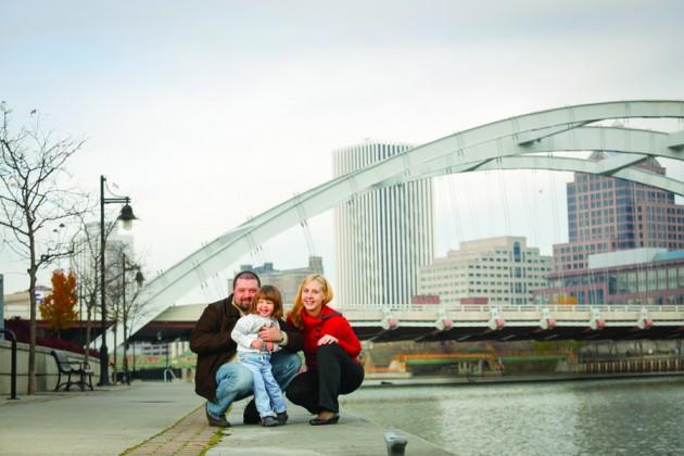 Ana Molovic-Kokovic, M.D., and family enjoy Rochester's many cultural activities.