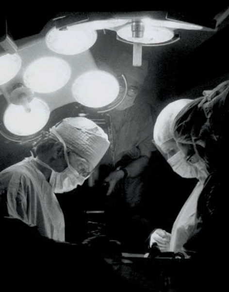 Prior to entering medical school, Max Aguilera-Hellweg, MD (above, top) spent eight years in the operating room photographing more than 100 procedures for his book, The Sacred Heart: An Atlas of the Body Seen Through Invasive Surgery. Ironically, during his surgical rotation, he was continually belittled and physically pushed and shoved. When he reported these incidents to administration, he was told to say nothing for fear he would fail the rotation.