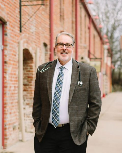 David Jenkins, D.O., used PracticeLink to find his new hospitalist practice in Dallas. · Photo by Rachel Moore