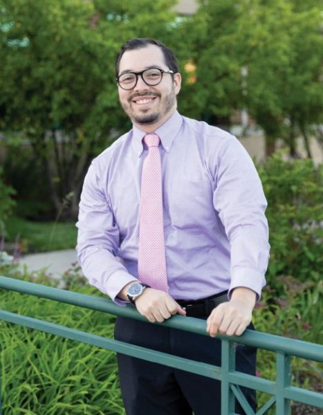 Luis Diaz Quintero, M.D., created a profile on PracticeLink that he then used to apply for jobs. - Photo by Colin Lyons