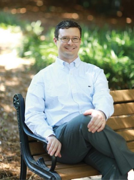 Moonlighting gave Justin Smith, M.D., experience in clinical decision-making. - Photo by Lindley Battle