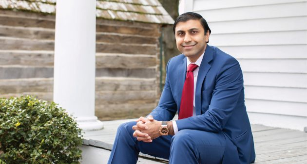 Beautiful beaches, affordable cost of living and a tight-knit community are what Bobby Gulab, M.D., loves about practicing in Lewes, Delaware. - Photo by Tiffany Caldwell