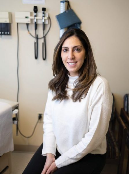 It took Sara Hawatmeh, M.D., about nine months to become fully credentialed. Begin sooner rather than later, she recommends. -Photo by Zach Dalin