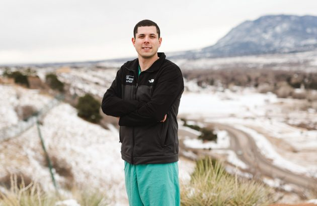 Daniel Paull, M.D., ended up in the Midwest for residency - a location he hadn't expected.