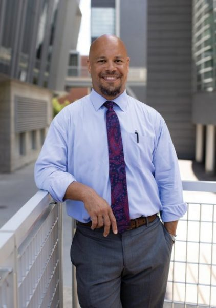 After finishing undergrad at Harvard, Chris Lewis, M.D., returned to his hometown of Cincinnati - and chose to stay for his career. - Photo by David Stephen Kalonick